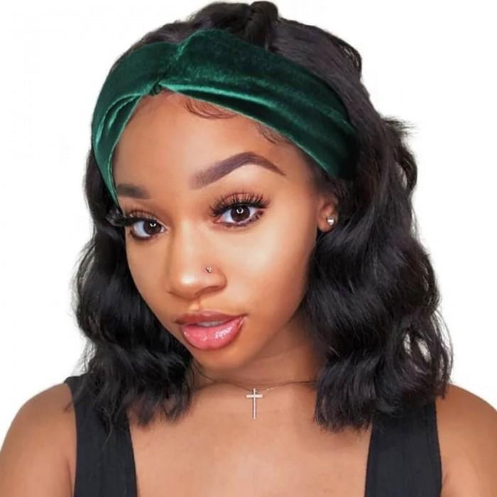 Incolorwig Short Cut Bob Wigs Body Wave Hair Wig For African American Women
