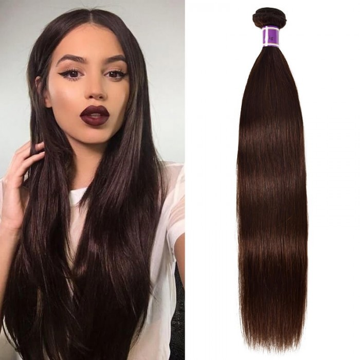 Incolorwig Mild Straight Hair 1 Bundle Human Hair Weave Novel #2 Color