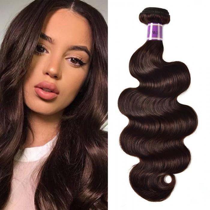 Incolorwig High Grade 7A Human Hair Weave #2 Body Wave Hair Pre- Colored Splendid 1 Bundle Deals