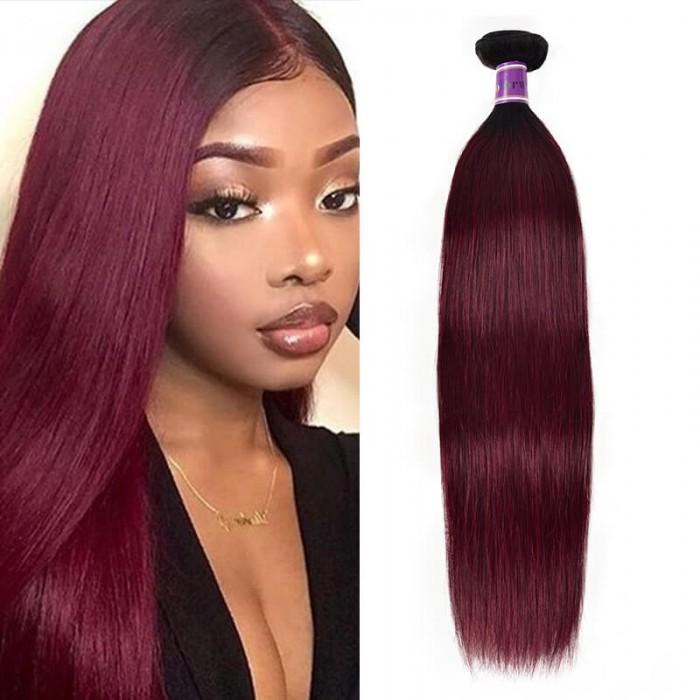 Incolorwig 100% Human Hair Weave #TB99J Resilient Straight Hair Bundles 1 Bundle Deals