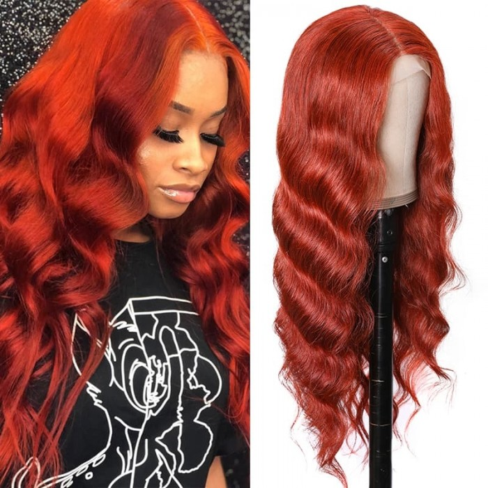 Incolorwig #350 Color Wigs 150% Density Body Wave Wigs Hairline Lace Part Wig