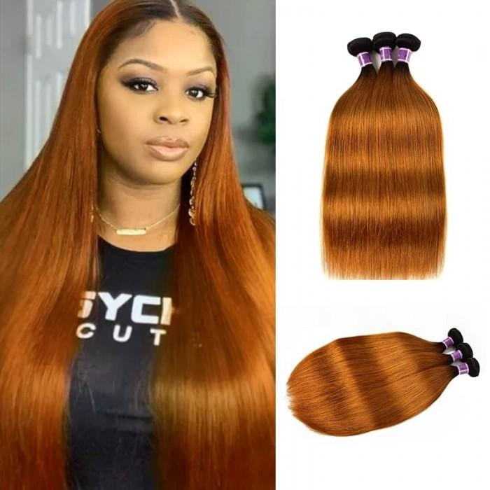 Incolorwig Peruvian Human Hair Weave 3 Bundles Deals #TB30 Straight Human Hair