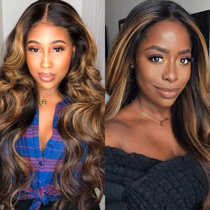 Incolorwig Virgin 4 Bundles Deals Brazilian Hair Weave #FB30 Body Wave Hair