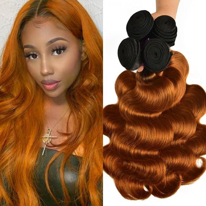 Incolorwig #TB30 Color Peruvian Body Wave Hair 4 Bundels Deals Hair Weave