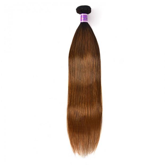 Incolorwig Resilient Straight Human Hair Weave #FB30 Superb Human Hair Bundles 1 Bundle Deals