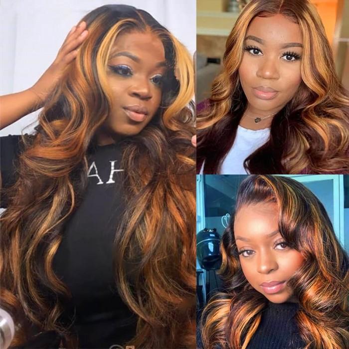 Incolorwig Superior Brazilian Human Hair Weave #FB30 Body Wave Hair 3 Bundles