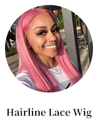 hairline lace wig